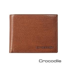 Crocodile Natural系列 義大利植物鞣皮革 短夾 0103-5802