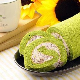 ~美德糕餅鋪~日式抹茶鮮乳紅豆捲