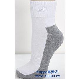 KAPPA  短筒學生襪 毛巾底    SE66~E007~0