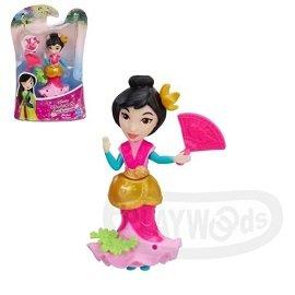 ~Playwoods~^~迪士尼公主DISNEY^~迷你公主人物組:花木蘭 Mulan^(