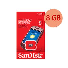 ~零售包裝~SanDisk 8GB 8G microSDHC~Class4~microSD