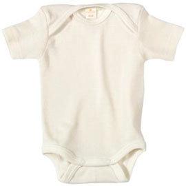 〔 折扣〕有機棉 嬰兒短袖連身內衣
