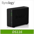 Synology群暉 DiskStation DS116 1Bay NAS 儲存伺服器