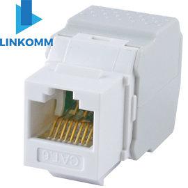 LINKOMM Cat.6 RJ45 8P8C 180度 資訊插座 KJ18F~WH ke