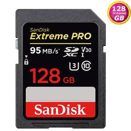 ~贈 R16 讀卡機~ SanDisk 128GB 128G SDXC~95MB s~Ex