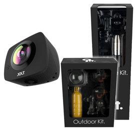 GIGABYTE技嘉 JOLT DUO 360度全景双眼运动摄影机(户外+生活组)