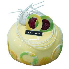 Mita米塔生日蛋糕~6吋檸檬瑞荷~~香草蛋糕與檸檬餡、熱帶水果餡  限門市 ~  母親節