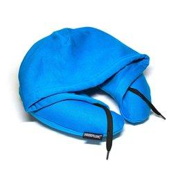 ~Hoodie Pillow~連帽充氣枕 ~ 藍色