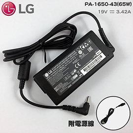 LG  19V 3.42A 變壓器 65W 樂金 PA~1650~43 細頭 3.0~1.