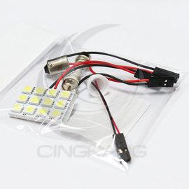~中科電子材料~11200055 5050白光 DC12V 12晶 附BA9S、T10、彈