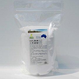 澳洲天然湖鹽DEBORAH LAKE^(1KG^),1000g,細緻,無添加未精製無再製,