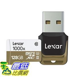 106 美國直購  Lexar 128GB 記憶卡 1000x UHS~II micro