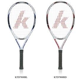 宏海體育 網球拍 KAWASAKI 網球拍 KTD7800 重量輕,揮拍輕鬆  1支裝