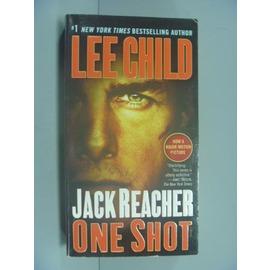 ~書寶 書T1╱一般小說_GEE~Jack Reacher: One Shot  Movi