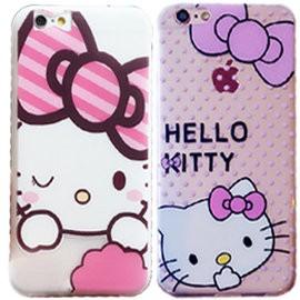 TPU硅膠軟套超薄Hello Kitty卡通圖案手機殼iPhone7 Plus iPhon