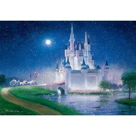 500片*透明mini【日本進口拼圖】Disney迪士尼#迪士尼公主-灰姑娘城堡/仙履奇緣 透明迷你拼圖(500pcs)DSG-500-472☆~HaiZu