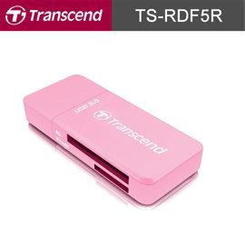 ~ ~創見 TS~RDF5R USB3.0 讀卡機 粉紅   SD.micro SD  T