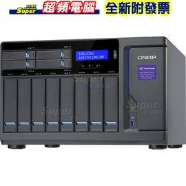 威聯通 QNAP TVS~1282~i7~32G NAS  儲存伺服器 ~ 附發票~