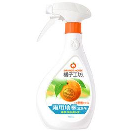 橘子工坊 地板清潔劑 天然兩用好方便 480ml 瓶