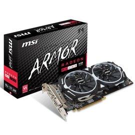 微星RX 480 ARMOR 8G OC^(鎧甲虎^) PCI~E顯示卡