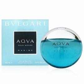 BVLGARI寶格麗 AQVA活力海洋能量男性淡香水100ml 贈隨機針管香水一份
