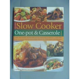 ~書寶 書T1╱餐飲_ZCL~Best~ever Slow Cooker One~pot