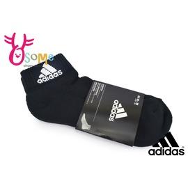 Adidas 襪子 童襪 足弓支撐 避震緩衝  一雙入  襪 SX242#黑色◆OSOME