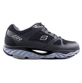 【MYVINA 維娜】SKECHERS 男鞋 SRR動力回彈 遙遙鞋 健走鞋 運動鞋 足弓鞋 (黑) 999738BBK