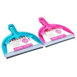 WT-102 2號桌上掃把組 掃把 拖把 掃除用具組 洗地刷 洗衣刷 萬用刷 畚斗 塑膠掃把 拖把組