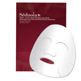 Seduoia^(思朵雅^)紅寶石美白 緊膚精華蠶絲面膜