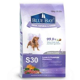 *沛樂思*~倍力BLUE BAY S30 羊肉+南瓜關節保健低敏配方犬糧(大包18kg)~有機食材.強化關節