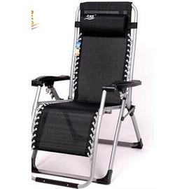 折疊躺椅 躺椅折疊椅子午休椅午睡床午睡椅辦公室逍遙椅休閒椅沙灘椅N4酷咖 旗艦店