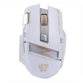 霸氣十足可充電靜音無聲遊戲級無線鼠標再也無需換電池N4型男原創館