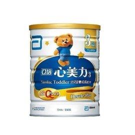 *美馨兒*亞培-心美力成長奶粉3號 900g/3罐  1800元