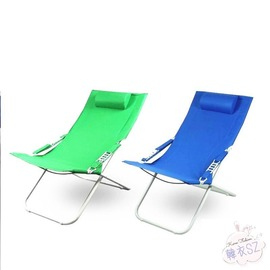 折疊躺椅 雅林美可調節躺椅加固加粗折疊床午休椅太陽懶人休閒椅醫院陪護床N43C 科技館