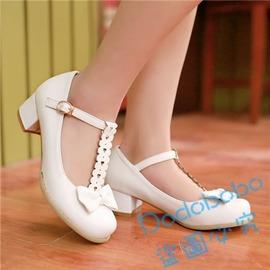 娃娃鞋蝴蝶結女平跟淺口圓頭單鞋N4型男部落