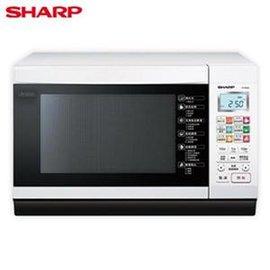 SHARP夏普 27L微電腦變頻烘燒烤微波爐R~T28NC W ~預計交期3天~