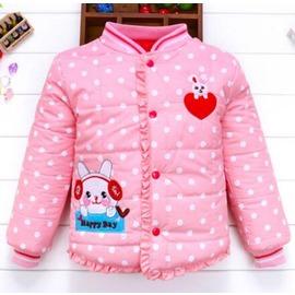 兒童保暖內膽女童外套加厚棉服羽絨棉衣 寶寶 裝小棉衣N4浪漫衣櫥