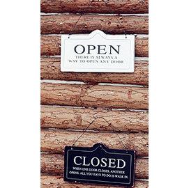 ^~微加幸福雜貨小築^~工業風 黑白北歐風 掛牌 OPEN CLOSED 營業中 休息中^