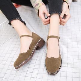 娃娃鞋 復古女鞋平底森女日系瑪麗珍娃娃皮鞋N4浪漫衣櫥