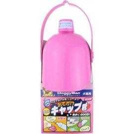 ~GOLD~5折活動 DoggyMan~犬貓用機能型外出便利水壺頭 飲水器~ ~ 粉紅色