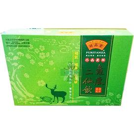 香港純品堂 冬蟲夏草龜鹿二仙飲禮盒 100g×8瓶(隨貨附禮盒提袋)