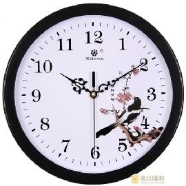 掛鐘客廳藝術 鐘錶圓形TWN517