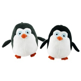 ~卡漫屋~ 企鵝 絨毛 玩偶 20cm 二色選一 ㊣版 娃娃 布偶 馬達加斯加 爆走 裝飾