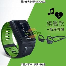 TomTom RUNNER 3 Card+Mus+HP BLK/GRN ( 1RKM.144.10 ) ◆TOMTOM RUNNER 3 GPS 手錶  腕上音樂與心率 +  [H62] [全新免運]