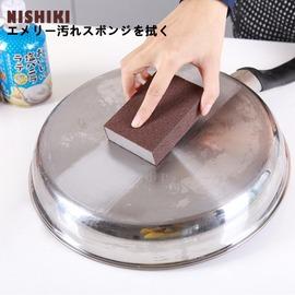 一個裝金剛砂納米海綿擦 神奇魔力擦 廚房刷鍋神器 鐵銹除垢海綿 可磨刀