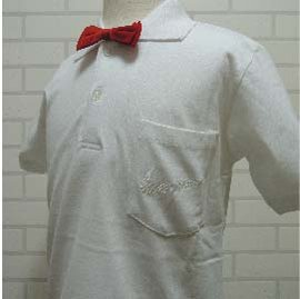 畢業典禮白色POLO衫上衣 正式款短袖白色素面POLO衫 白色有領上衣表演百搭款棉質襯衫