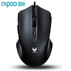 ~挑戰24小時 ~ 雷柏 RAPOO VPRO V20S RGB 電競 遊戲滑鼠~烈焰黑