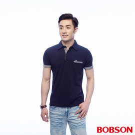 ~BOBSON~男款配條POLO上衣 25010~53