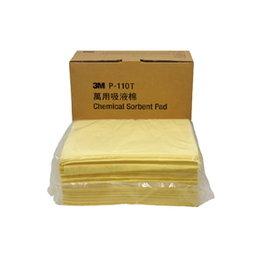3M P系列萬用吸液棉~片狀 ^(P~110T^) 50片 盒 耐強酸強鹼 10倍吸收量